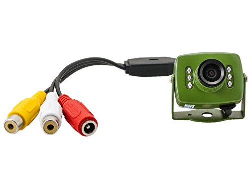 Green Feathers Wildlife 700TVL Wired Bird Box Camera with Night Vision