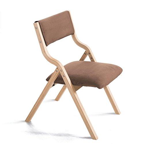 Fauteuils Chaise Pliable en Bois Solide détachable Facile à Nettoyer de Couverture de siège et Chaises (Couleur : J)