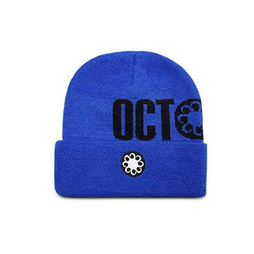 Octopus - Cappellino Logo Ricamato - Fold Beanie - Royal Blue - Taglia Unica
