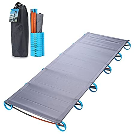 The Original Yahill Ultralight Folding Bed Portable Cot.