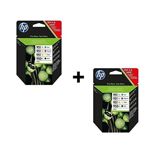 HP 950 X L + 951 X L cartucho de tinta Multipack (4.: Amazon.es ...