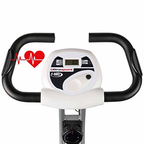 Ultrasport F-Bike et F-Rider, Vélo de fitness, Vélo d'appartement, entraîne tout le corps, entraînement cardio
