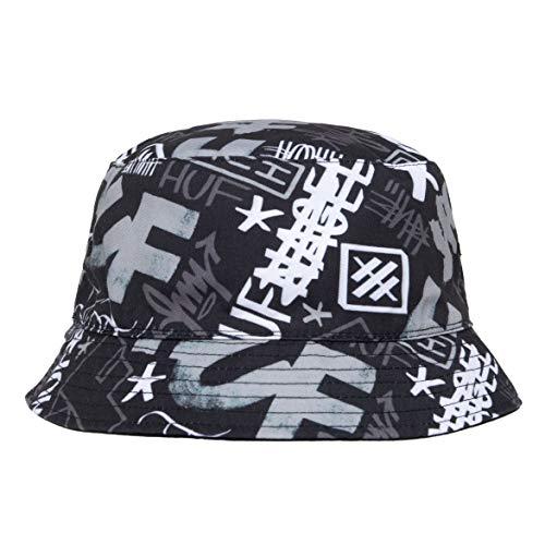 (ハフ) HUF×HAZE BUCKET HAT (HAT)(HT00565-BK) キャップ 帽子 リバーシブル ハット エリック・ヘイズ 国内...