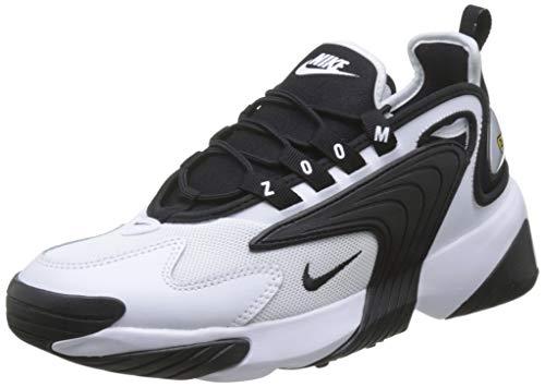 Nike Zoom 2K, Zapatillas de Deporte Hombre, Blanco (White/Black), 42 EU