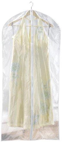 Russel Storage - Set de 2 Housses de Protection pour Vêtements - Tous Types de Robes Précieuses - 127 x 61 cm - Transparente
