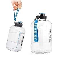 Bottiglia d Acqua, GHONLZIN Water Bottle 2.5 L Borraccia sportiva acqua con Indicatore del Tempo Bottiglia d'Acqua Senza BPA per Corsa, Ciclismo, Lavoro e Palestra #2