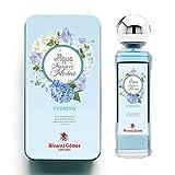 Alvarez Gomez Lata Regalo Aguas Frescas de Flores, Verbena, Azul, Fresca, 175 Mililitros