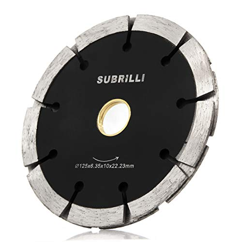 5 Inch Sandwich Twin Tuck Point Diamond Saw Blade Cut Concrete Motar Joint Removal