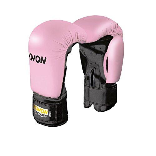 Boxhandschuhe Pointer Small Hand weiß oder pink, 8 oz (pink)