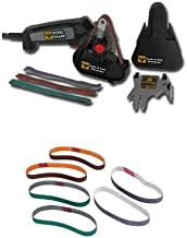 Work Sharp WSKTS Knife and Tool Sharpener and Replacement Belt Kit