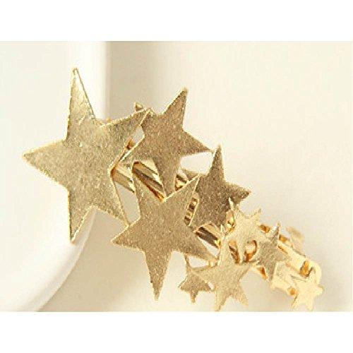 『シューティングスター 流れ星 バレッタ 髪飾り ゴールド』のトップ画像
