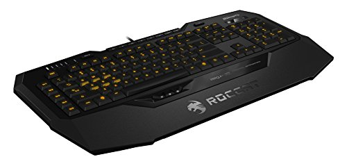 ROCCAT Isku+ Force FX - RGB Gaming Keyboard with Pressure-Sensitive Key Zone - http://coolthings.us