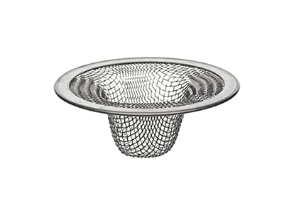 Danco 88820 2-1/2-Inch Lavatory Mesh Strainer, Stainless Steel