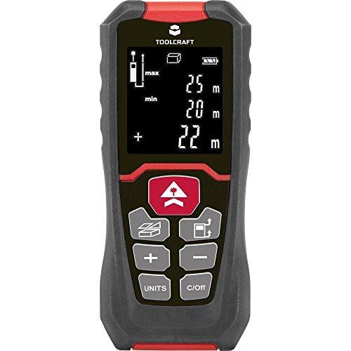 TOOLCRAFT LDM 50 J Laser-Entfernungsmesser Messbereich (max.) 50m Kalibriert nach: Werksstandard (oh
