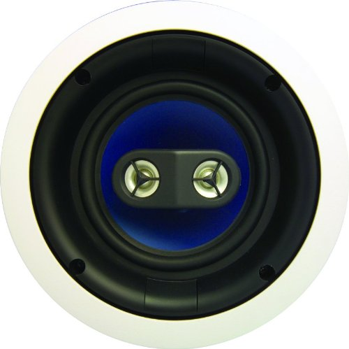 Legrand, Home Office & Theater, Ceiling Speakers, Dual Voice Coil Speaker, 6.5 inch, 3000 Series, MS3652