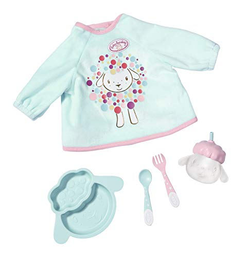 Zapf Creation 702024 Baby Annabell Lunch Time Set Puppenzubehör, 5-teilig