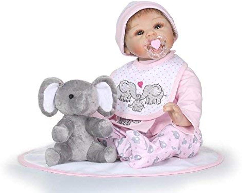 XL68chao 55 cm Niedlichen Spielzeug Silikon Reborn Boneca Realista Puppe Reborn Babys Mode Baby Puppen Spielzeug für Kinder B07J66JPNR Großartig  | ein guter Ruf in der Welt
