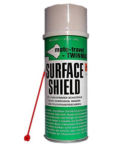 SURFACE SHIELD Pflegeöl, Rostlöser, protección contra la corrosión con Sprühlanze