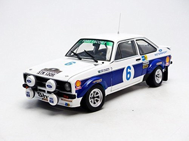 salida Ford Escort RS1800 (Bjorn Waldegard - Winner Winner Winner Rally Acropolis 1977) Diecast Model Coche by SunEstrella  Mejor precio