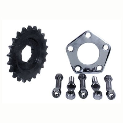 V-Factor Offset Transmission Sprocket Kit For Harley-Davidson Big Twin 4 Speed