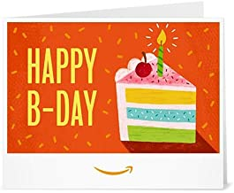 Amazon Gift Card - Print - Birthday Cake