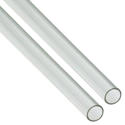 Nanoxia 300200647 PETG Hard Tube 12/10mm, Außendurchmesser 12mm, Innendurchmesser 10mm, 2x 100cm Röhren