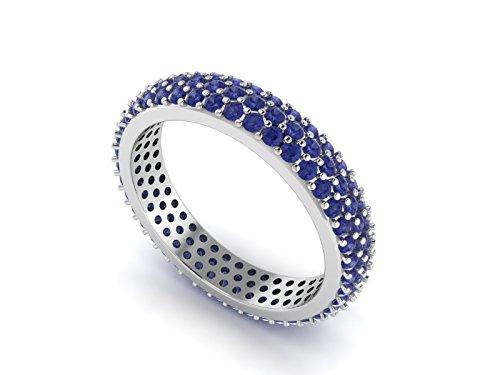 Shine Jewel Anillo de la eternidad ! anillo capaz de pila de...