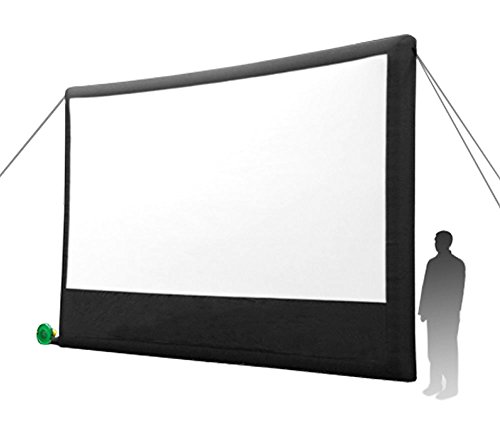 Open Air Cinema Portable Pop-Out Home Theatre Projection Movie Screen Kit - 16' x 9'