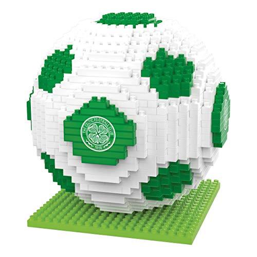 BRXLZ Celtic FC Football Premier League Championship Logo Team Building Set 3D Construction Toy