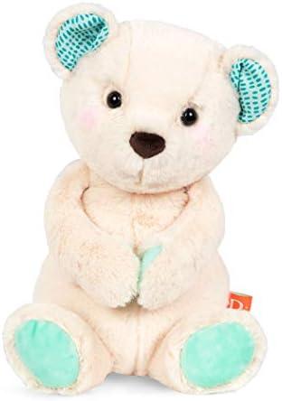 B toys by Battat Happy Hues Marshmallow Cuddles Soft Cuddly Plush Teddy Bear Huggable Stuffed product image