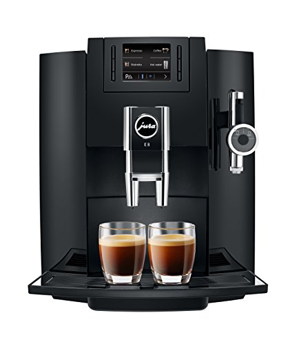 Jura 15109 Automatic Coffee Machine E8, Black