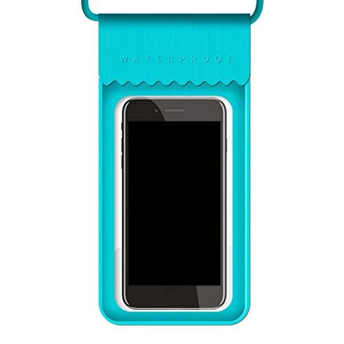 Bebliss TPU Impermeable Teléfono Móvil Bolsa De La Pantalla Táctil De Natación Bolsa De Teléfono Caso De Teléfono Celular Bolsa De Titular Para Buceo Surfing Agua Natación