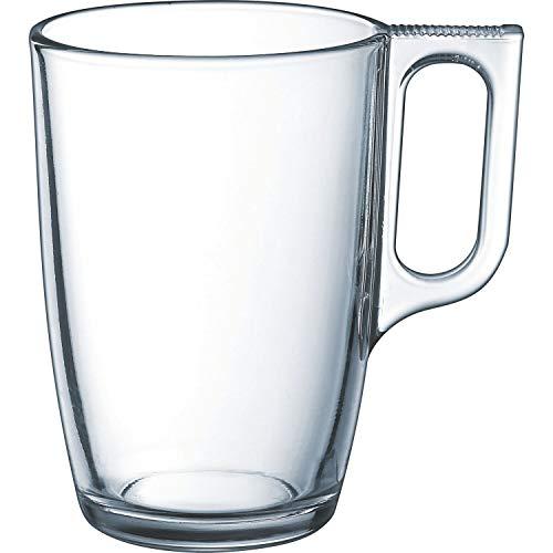 Luminarc - Juego de tazas de café (320 ml, 11 cm, 6 unidades)