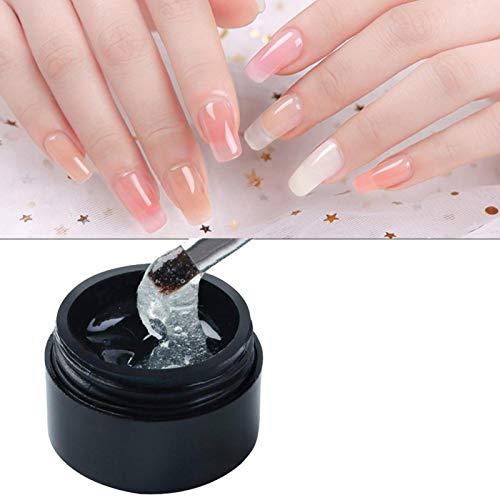 Morningtime Cracked Nail Fix Nagelreparatur Gel Nagelverstärker Nagelverlängerung Gel stärkt langlebige, Cracked Nail Repair Gel für UV Acryl Broken Nails langlebig, harmlos