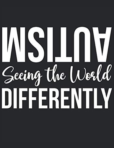 Libro de trabajo del planificador de autismo: Ver el mundo de manera diferente: Cuaderno de trabajo del planificador de autismo - Tapa blanda 120 páginas formato de 8.5 x 11 pulgadas