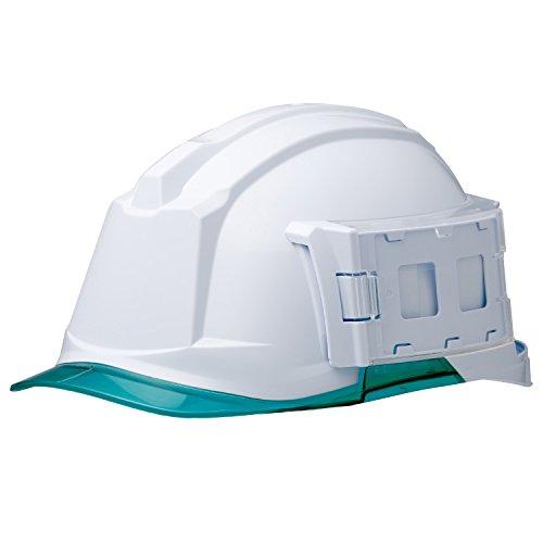 ミドリ安全 ヘルメット 一般作業用 電気作業用 IDケース付 SC-19PCL-ID RA3 αライナー付 ホワイト グリーン