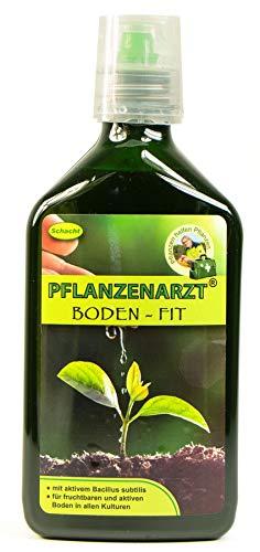 PFLANZENARZT® Boden-Fit Konzentrat, Organischer NPK-Flüssigdünger/Bodenaktivator, 350ml
