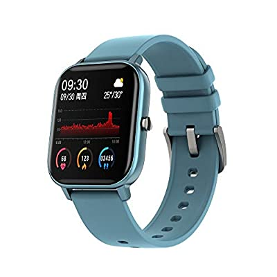 Amazon - Save 80%: P8 Sports Smart Watch Fitness Heart Rate Smart Bracelet Touch-Screen IP…