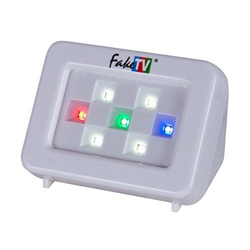 Home Security TV Light Simulator with Night Sensor