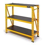 DEWALT 4-Foot Tall, 3-Shelf Industrial Workshop/Garage Storage Rack, Total Capacity: 4,500 lbs.