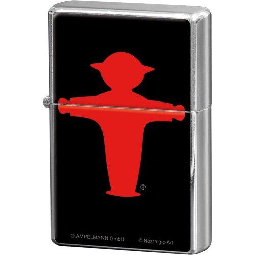 Nostalgic-Art 80225 Ampelmann, Feuerzeug, rot