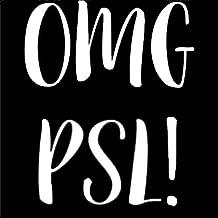 OMG PSL Basic B Fall White Decal Vinyl Sticker Cars Trucks Vans Walls Laptop  White  5.5 x 4.5 in LLI632