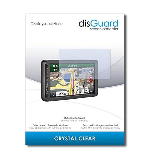 disGuard Displayschutzfolie für BMW Motorrad Navigator V [2 Stück] Crystal Clear, Kristall-klar, Unsichtbar, Extrem Kratzfest - Displayschutz, Schutzfolie, Glasfolie, Panzerfolie