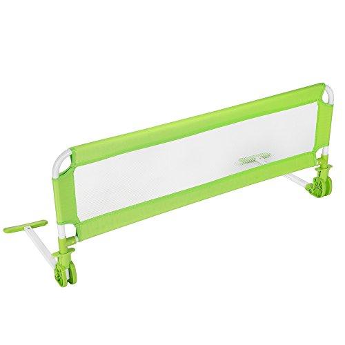 TecTake Barriera per letto da bambini sponda ribaltabile pieghevole universale 112 cm - disponibile in...