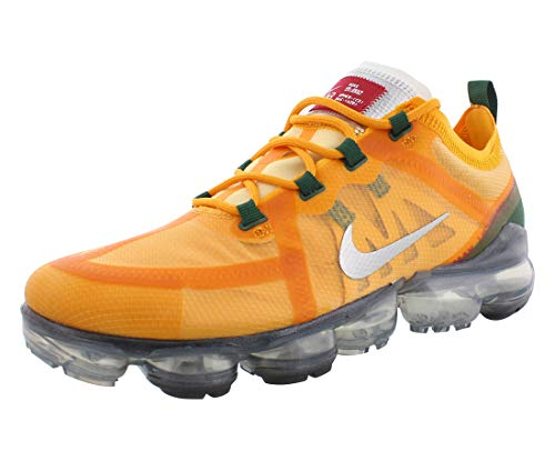 Nike Mens Air Vapormax 2019 Running Shoes, Canyon Gold/Metallic Silver, 10 M US