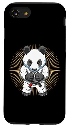 iPhone SE (2020) / 7 / 8 Baby Panda Brazilian Jiu Jitsu - BJJ Grappling Gift Case