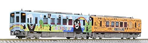 TOMIX Nゲージ 肥薩おれんじ鉄道 HSOR-100形 くまモンラッピング1号 おれんじちゃん セット 2両 98062 鉄道模型 ディーゼルカー