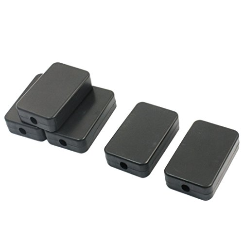 uxcell 5pcs Waterproof Plastic Electric Project Case Junction Box 55x35x15mm