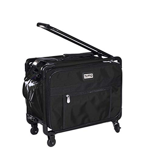 """Tutto 17"""" Carry-On - Small (Fits Jem, etc.) (Black) -  TUTTO Luggage, 4217"""