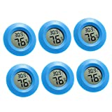 PETSOLA 6X Rundes Reptilien Thermometer...